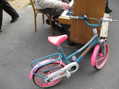 puces de vanves bicyclette