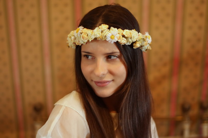 crown of flower