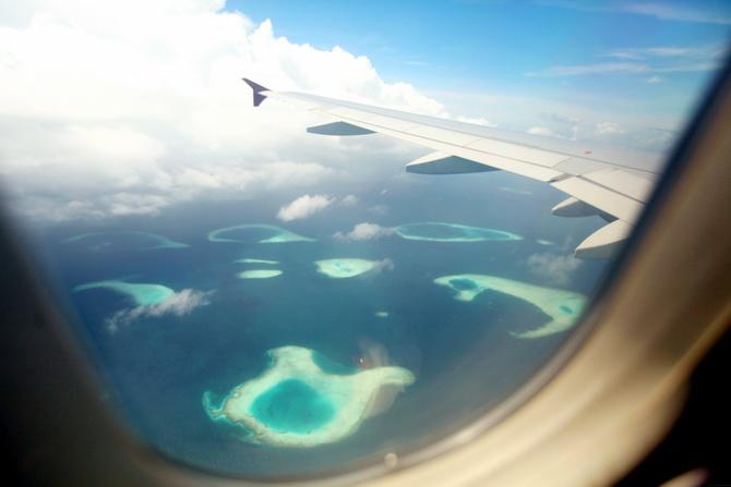 The Cherry Blossom Girl - Maldives 24