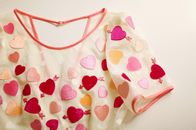 Sretsis hearts dress