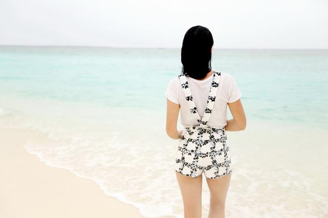 The Cherry Blossom Girl - Maldives 125
