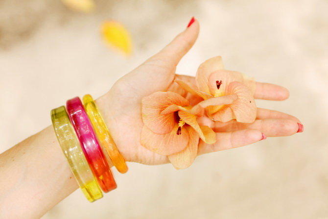 The Cherry Blossom Girl - Maldives 45