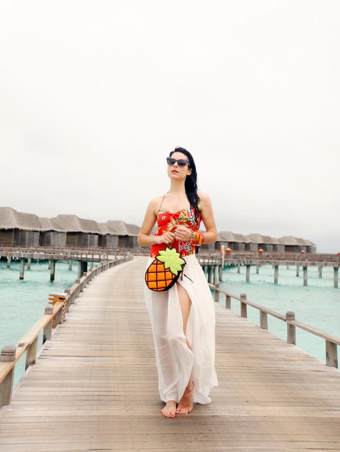 The Cherry Blossom Girl - Maldives 63