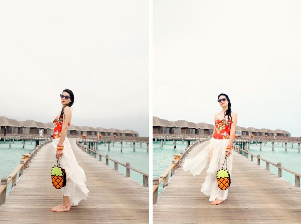 The Cherry Blossom Girl - Maldives 66