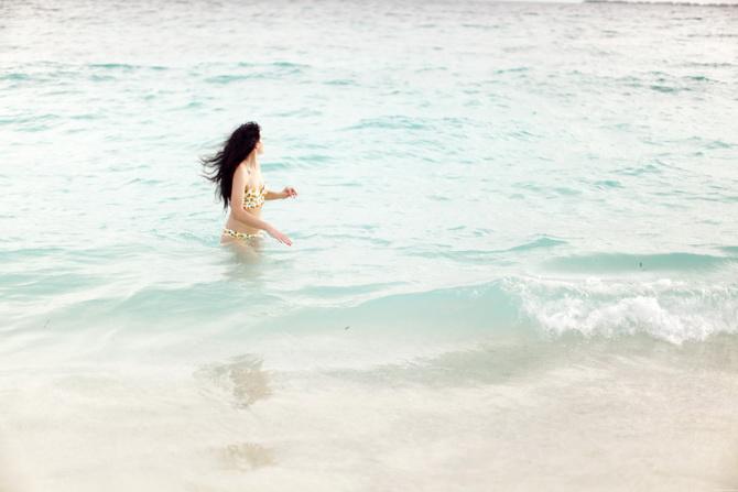 The Cherry Blossom Girl - Maldives 86