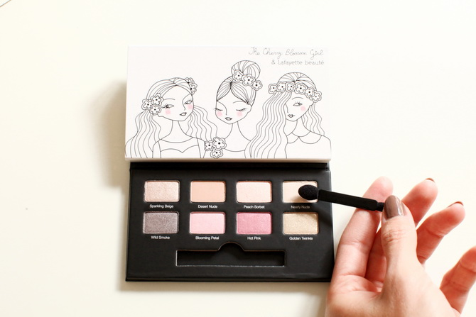 The Cherry Blossom Girl x Galeries Lafayette - Doll makeup 19