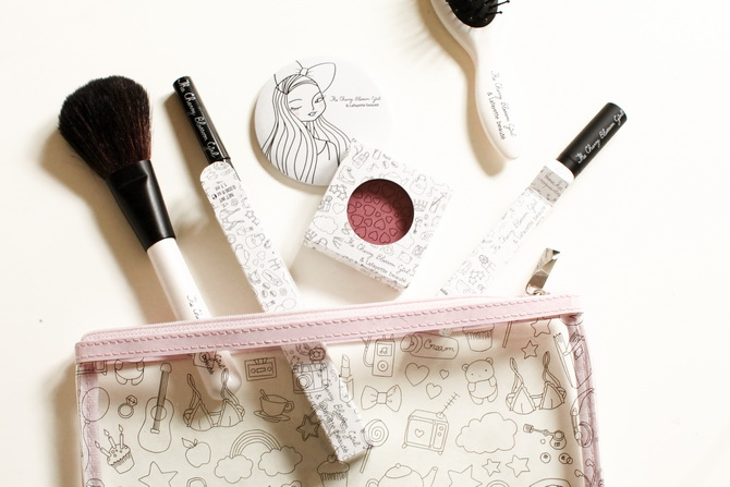 The Cherry Blossom Girl x Galeries Lafayette - makeup pin up 32