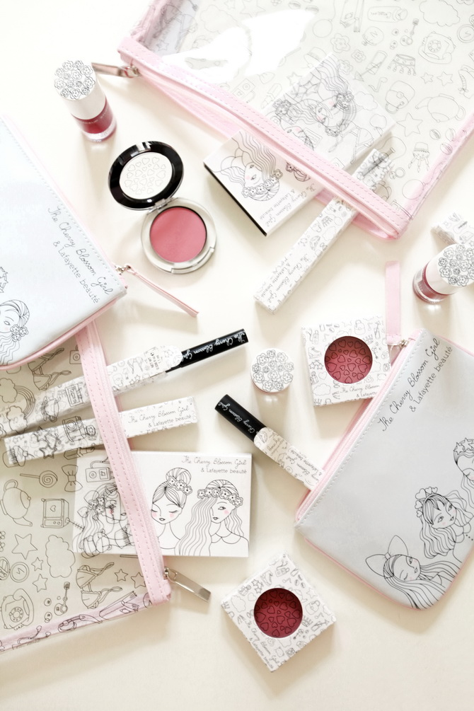 Giveaway - The Cherry Blossom Girl x Galeries Lafayette