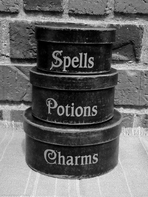Spells Potions Charms