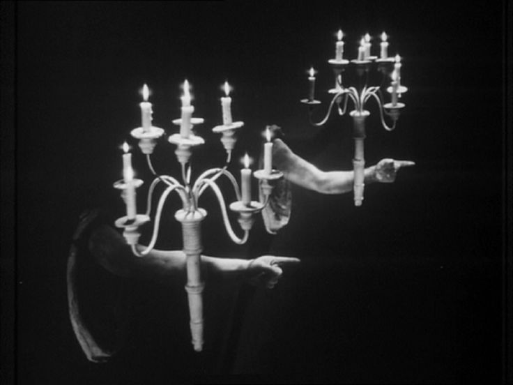 Wall candelabra from the 1946 French movie La Belle et la Bete