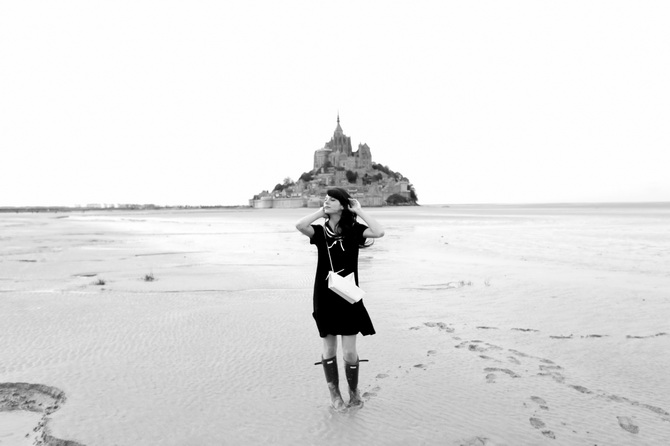 Mont St Michel - The Cherry Blossom Girl 17