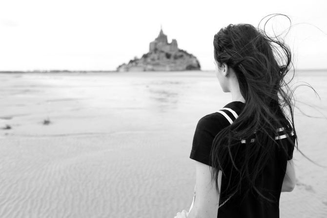 Mont St Michel - The Cherry Blossom Girl 19