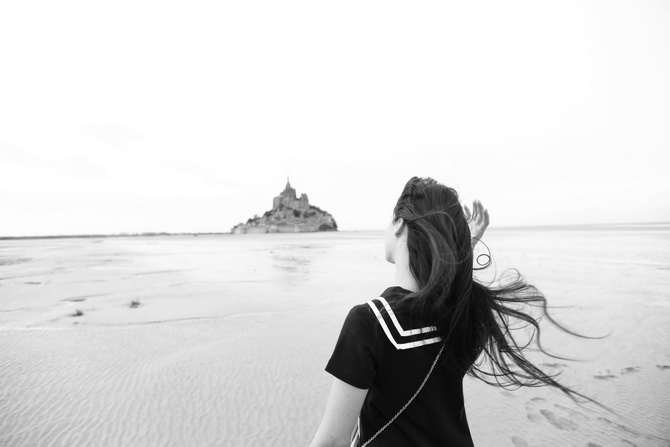 Mont St Michel - The Cherry Blossom Girl 20