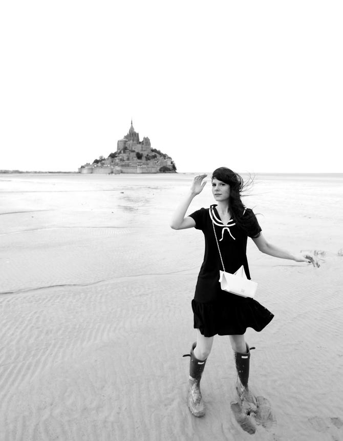 Mont St Michel - The Cherry Blossom Girl 23