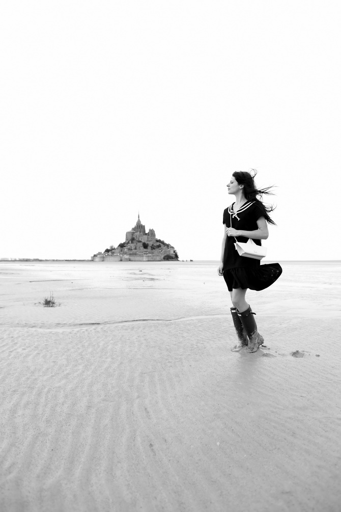 Mont St Michel - The Cherry Blossom Girl 24