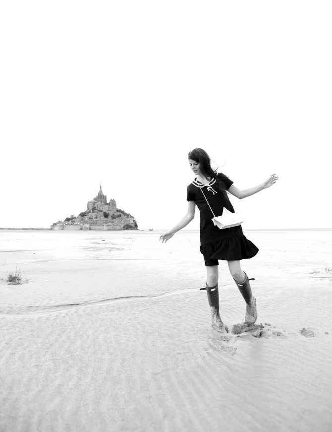 Mont St Michel - The Cherry Blossom Girl 25