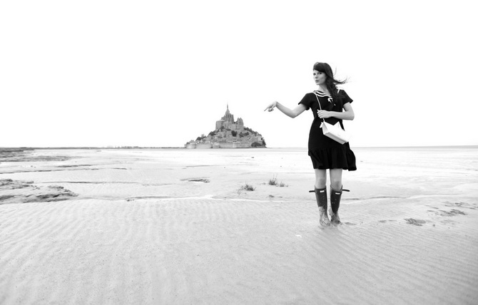 Mont St Michel - The Cherry Blossom Girl 27