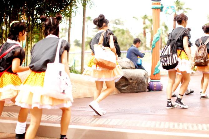 The Cherry Blossom Girl - Tokyo Disney Sea 07