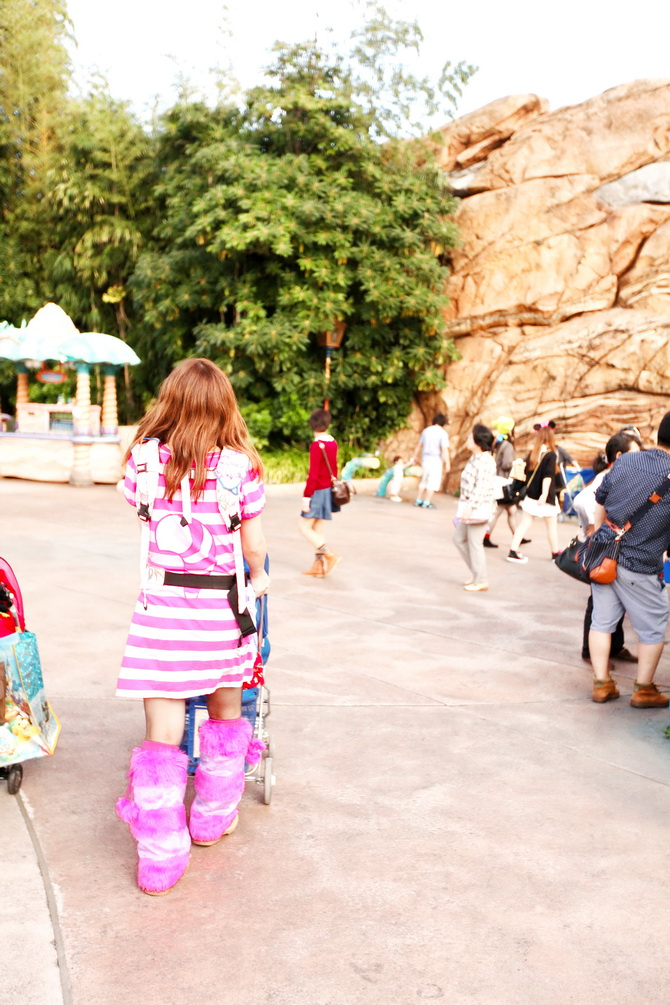 The Cherry Blossom Girl - Tokyo Disney Sea 14