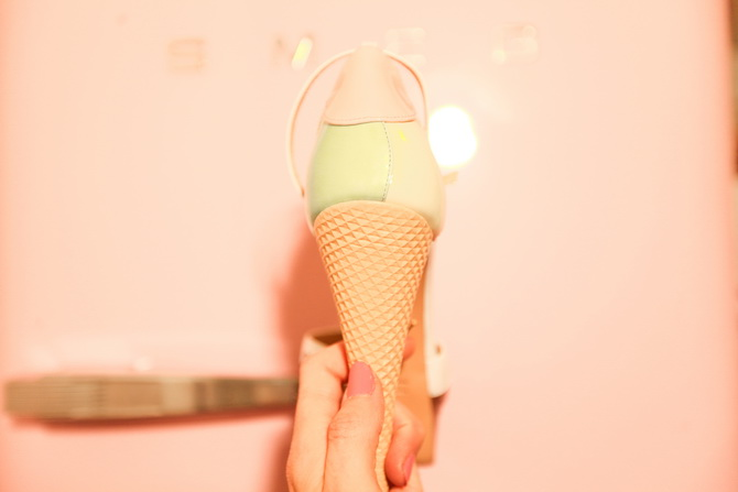 The Cherry Blossom Girl - Ice Cream heels by Charlotte Olympia 09
