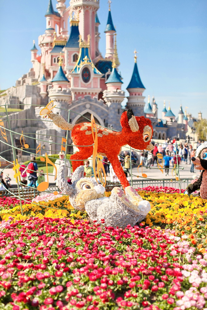 The Cherry Blossom Girl - Disneyland Paris Swing Into Spring 17