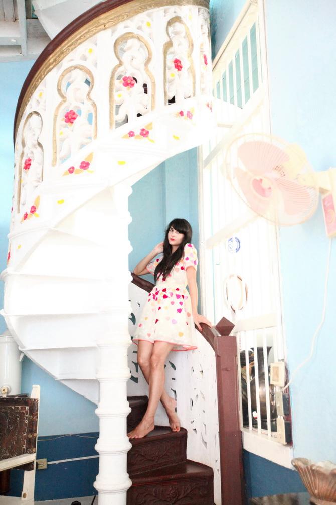 The Cherry Blossom Girl - Blue Trinidad 24