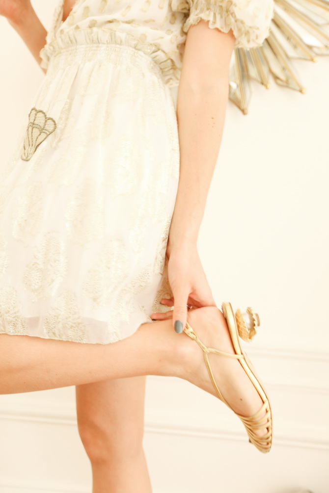 The Cherry Blossom Girl - Charlotte Olympia Shell 13