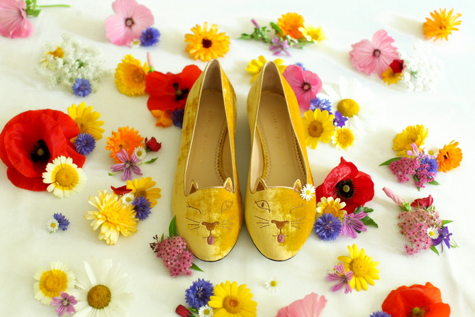 The Cherry Blossom Girl - Charlotte Olympia Cheeky Kitty 01