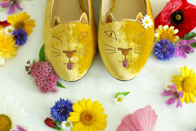 The Cherry Blossom Girl - Charlotte Olympia Cheeky Kitty 05