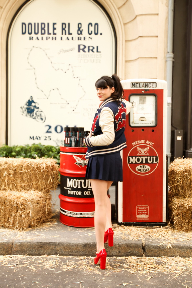 The Cherry Blossom Girl - RRL Riders Tour 01