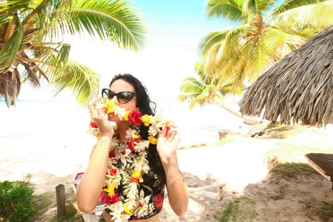The Cherry Blossom Girl - Somewhere over the rainbow Tahiti 18