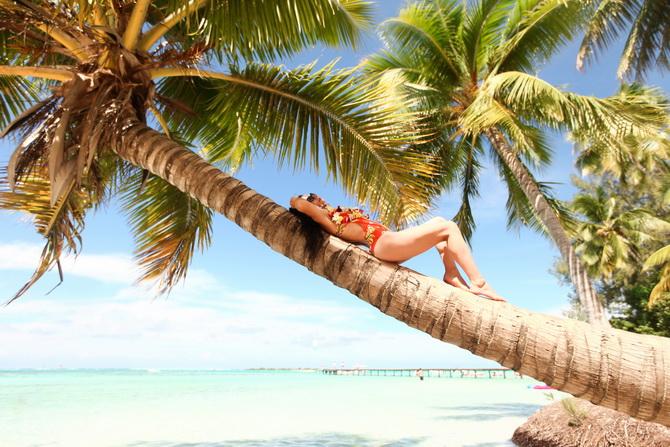 The Cherry Blossom Girl - Somewhere over the rainbow Tahiti 22