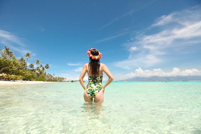The Cherry Blossom Girl - Somewhere over the rainbow Tahiti 29