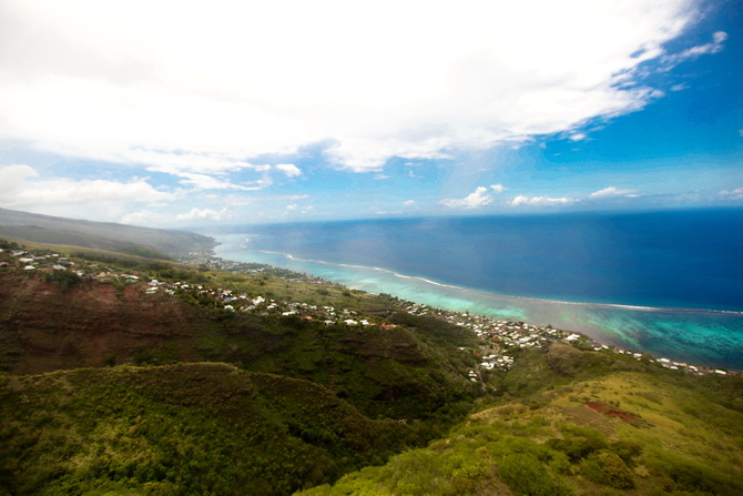 The Cherry Blossom Girl - Somewhere over the rainbow Tahiti 35