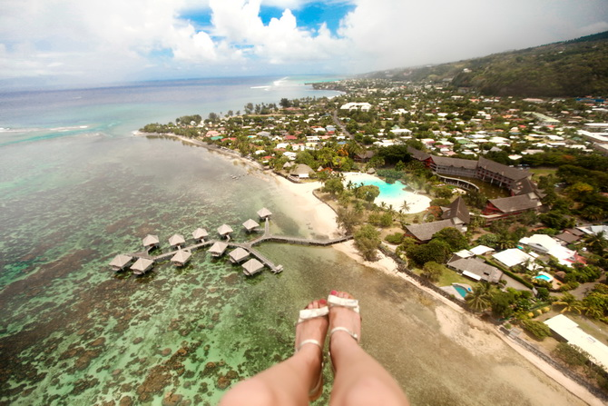The Cherry Blossom Girl - Somewhere over the rainbow Tahiti 36