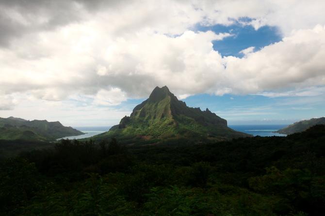 The Cherry Blossom Girl - Somewhere over the rainbow Tahiti 42
