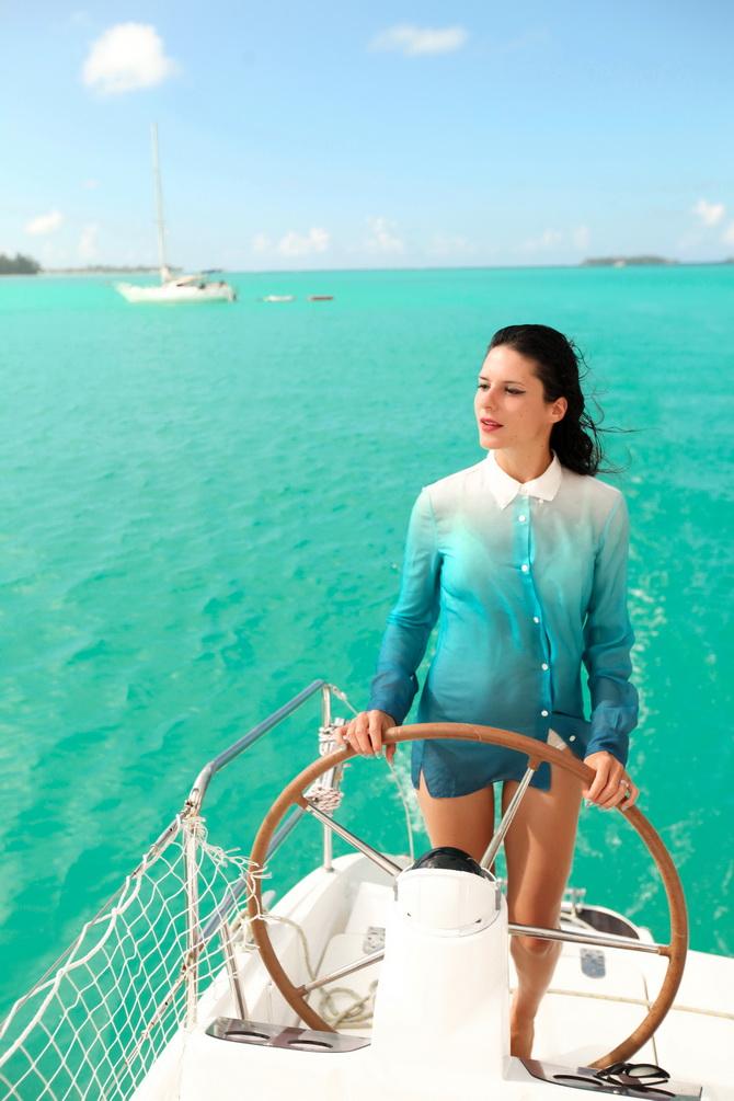 The Cherry Blossom Girl - Bora Bora 14
