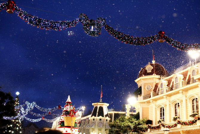 The Cherry Blossom Girl - Chistmas Disneyland paris 20