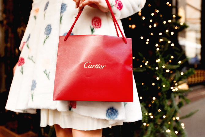 The Cherry blossom Girl - Cartier Experience 15