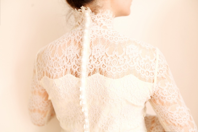 The Cherry Blossom Girl - Paul & Joe Sister lace blouse