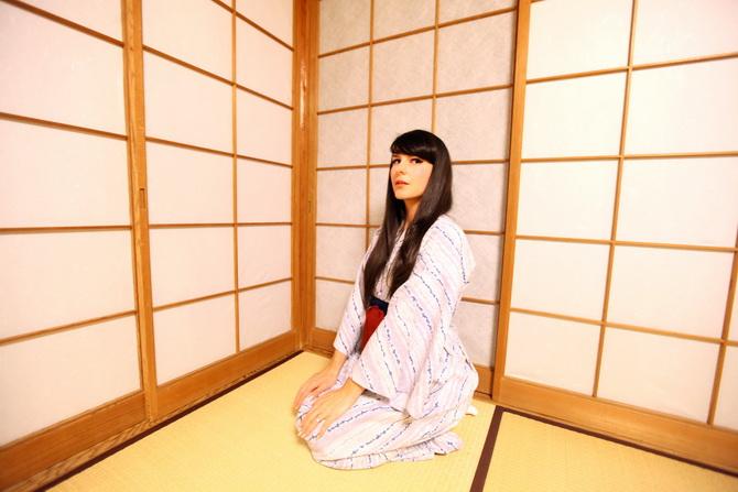 The Cherry Blossom Girl - Ryokan Tsukihitei Nara 13