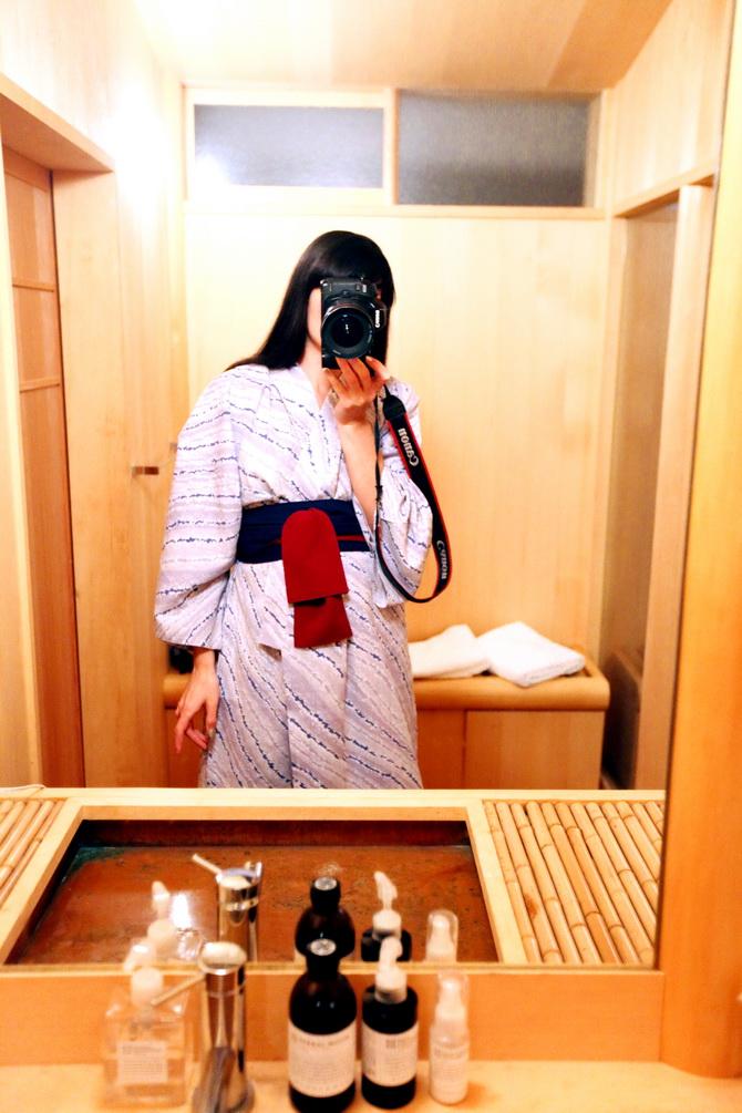 The Cherry Blossom Girl - Ryokan Tsukihitei Nara 14