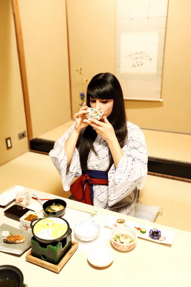 The Cherry Blossom Girl - Ryokan Tsukihitei Nara 16