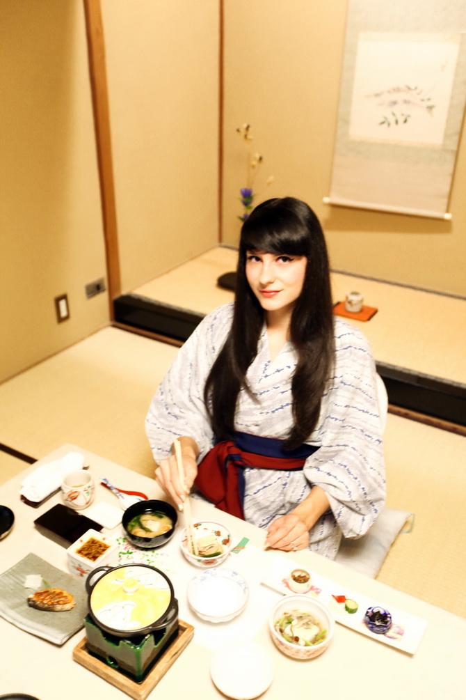 The Cherry Blossom Girl - Ryokan Tsukihitei Nara 17