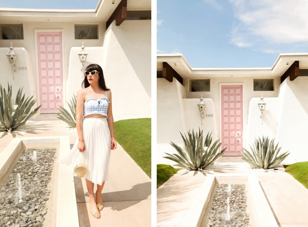 The Cherry Blossom Girl - Palm Springs Pink Door 19