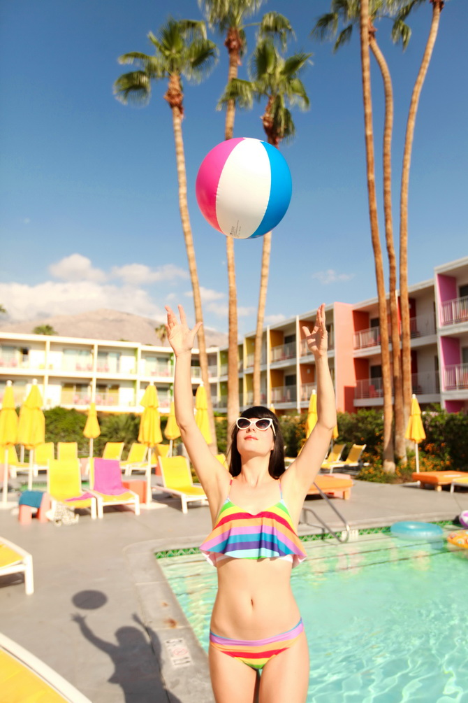 The Cherry Blossom Girl - Palm Springs Saguaro Hotel 17