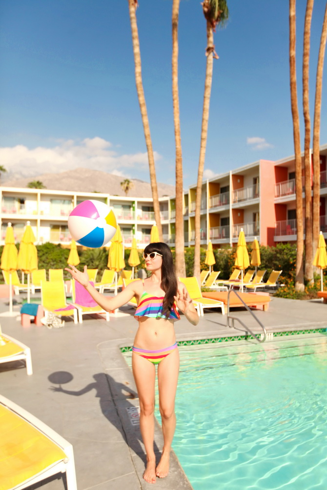 The Cherry Blossom Girl - Palm Springs Saguaro Hotel 18