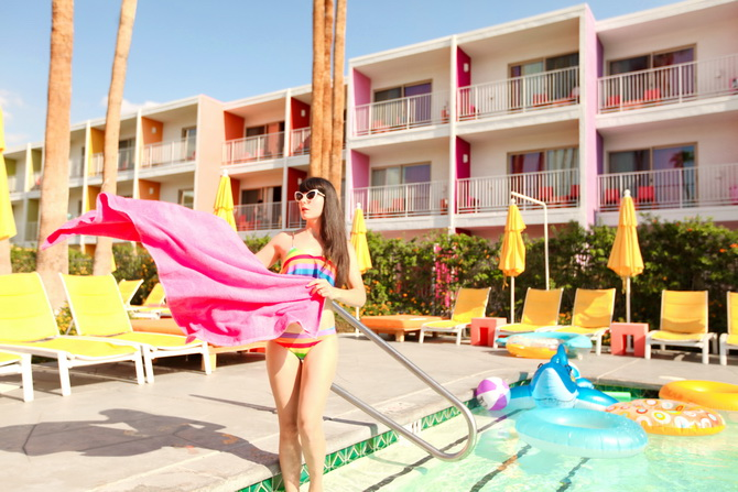 The Cherry Blossom Girl - Palm Springs Saguaro Hotel 23