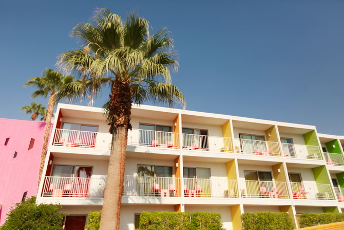 The Cherry Blossom Girl - Palm Springs Saguaro Hotel 25