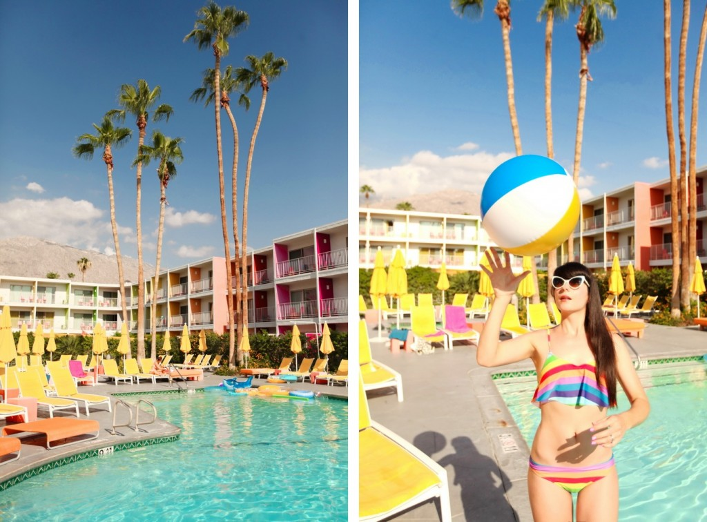 The Cherry Blossom Girl - Palm Springs Saguaro Hotel 43